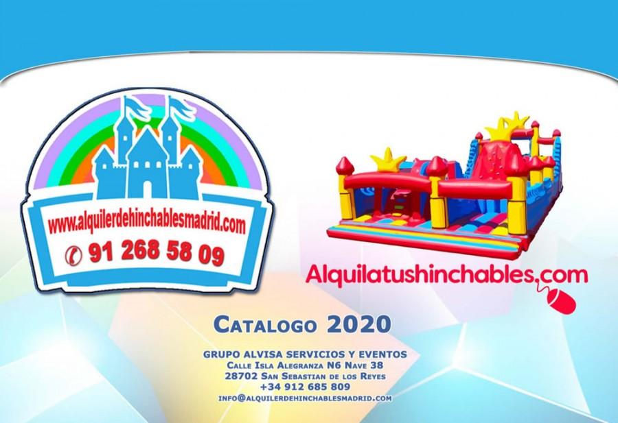 Catálogo de Castillos Hinchables y Atracciones